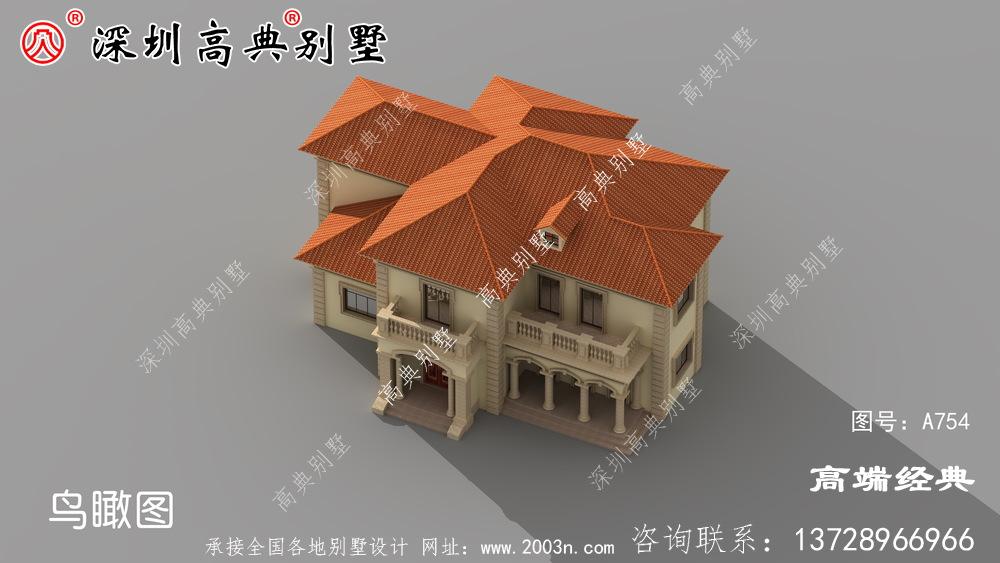 农村自建房设计图,户型足够好,大家才能争相要建