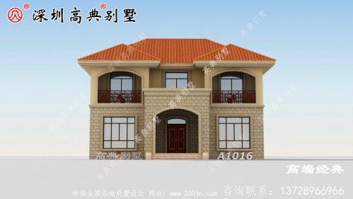 新农村自建房设计图,