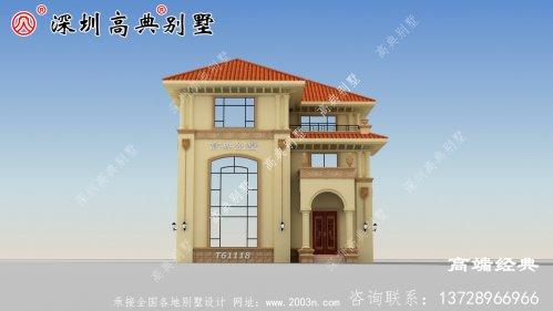 三层农村小别墅设计图
