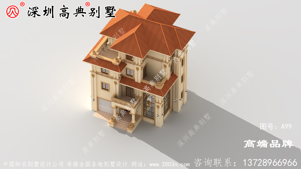 现代独栋四层别墅设计图,年轻人的最爱,建好绝对满意