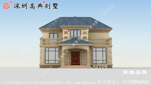 二层农村自建房,外观