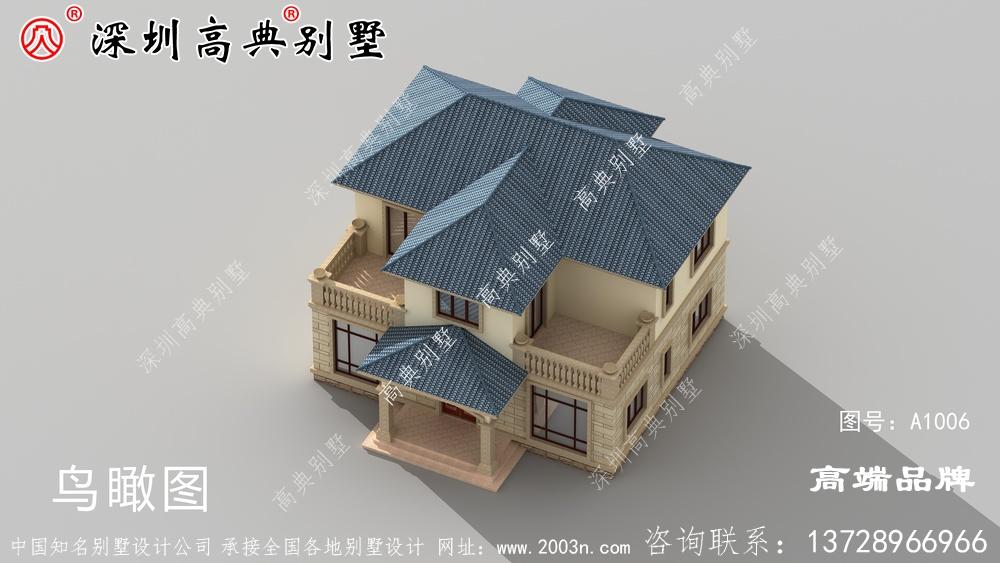 二层农村自建房,外观简约大方,实用,你喜欢哪一款?