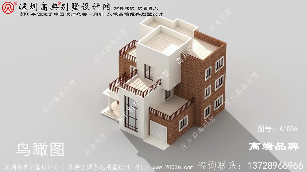 三层别墅设计图,年轻人的最爱