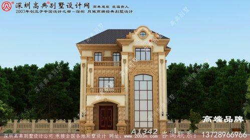 别墅设计图纸造价 30万