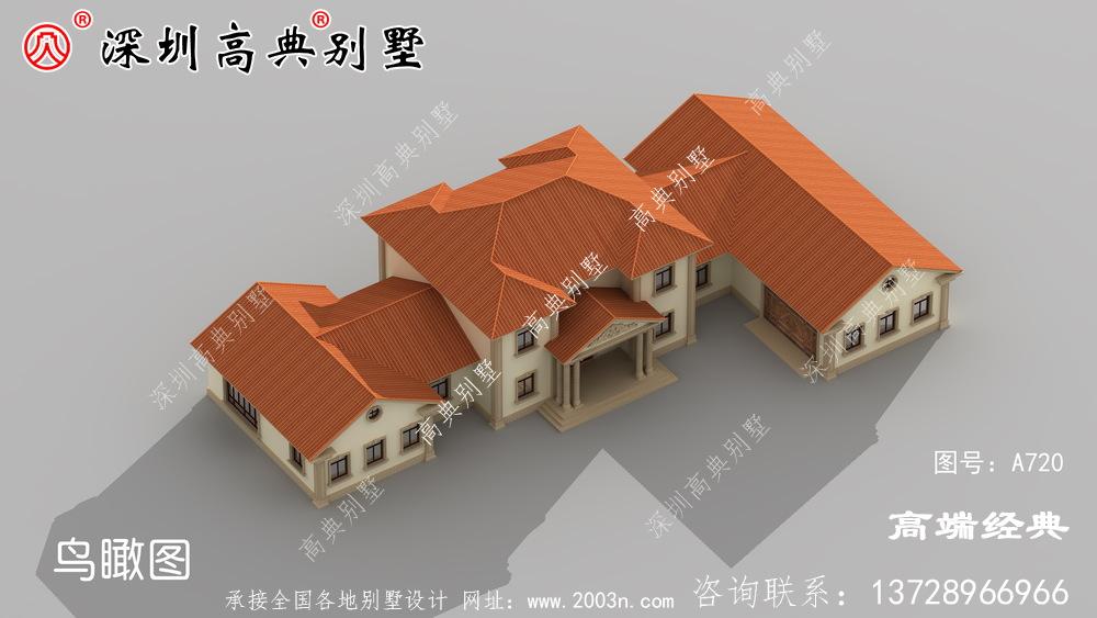 简单接地气自建房外观图,经济实用,最适合农村建设。