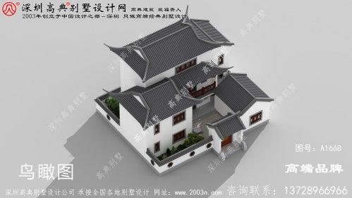 新中式农村别墅自建房