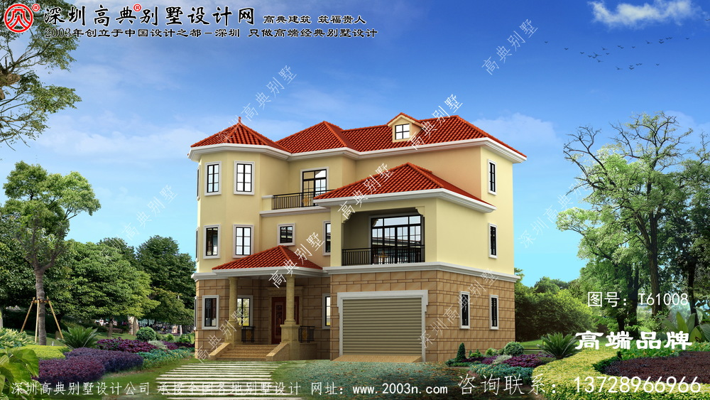 三层 乡间别墅 ,每一款 都很不错 ,回乡 建一座 ,绝对 不输旁人 。