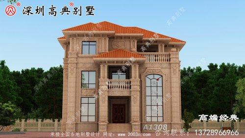 独栋三层别墅设计图,