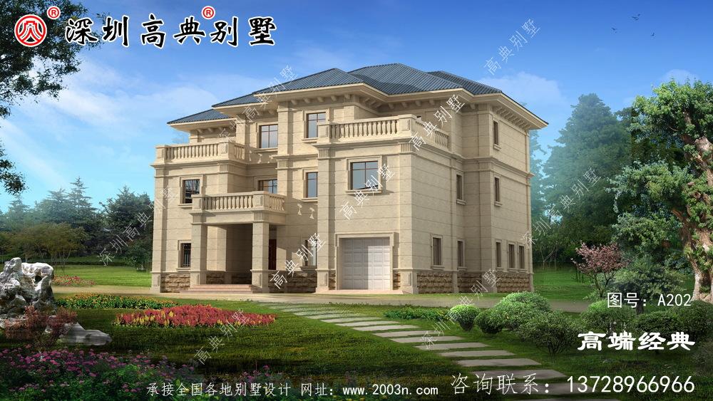 农村的自建房是大事,一生盖一两所房子,实用和经典