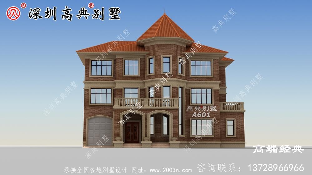 乡村三层楼的设计图,盖房子是大事,不能马虎。