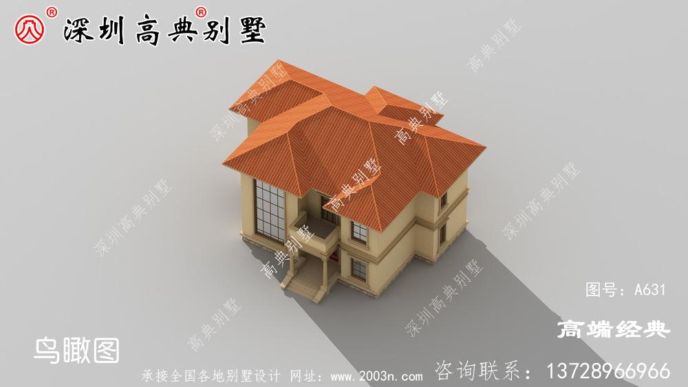 二层也要精致外观合理布局?这款别墅能满足你的要求