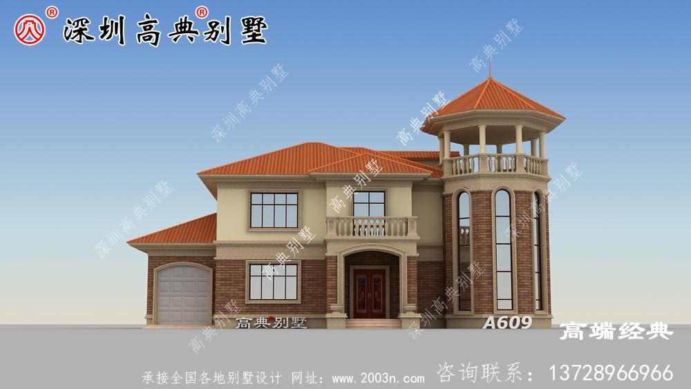 乡下简单的二层自建房,房子美观实用,你也来建吧。