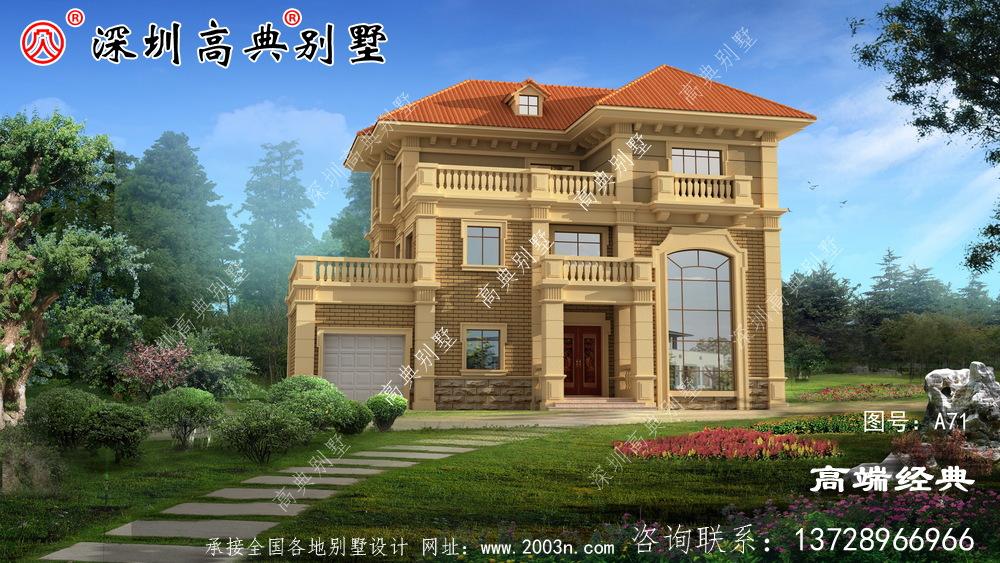 复式设计保证了室内的通风和采光更兼具美观
