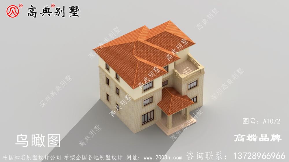 美观大气的乡村别墅设计图,室内布局深得我心
