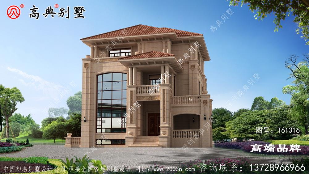 二楼阳台的景观很好的沐浴阳光,适合很多家庭建设