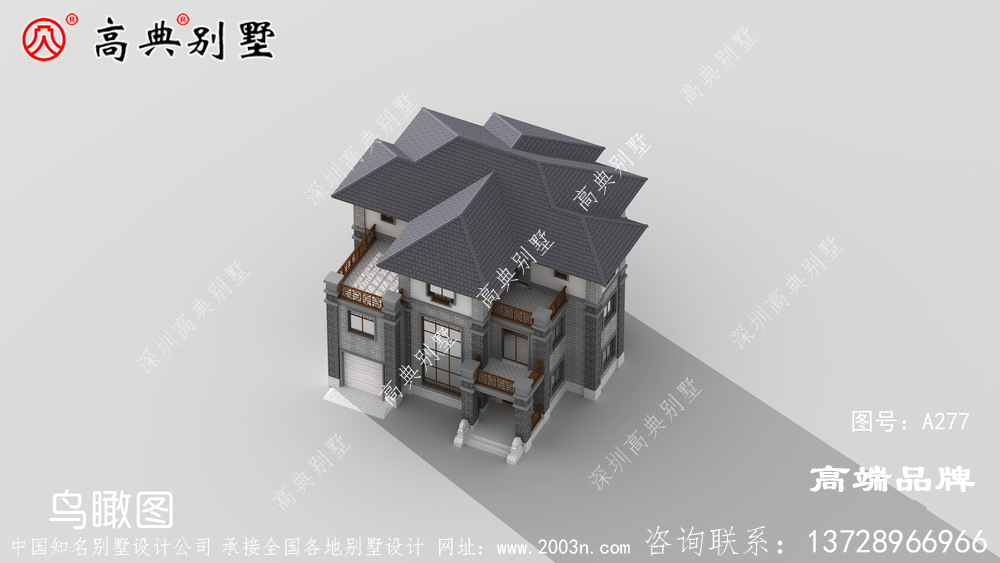 多卧室设计满足大部分农村家庭的居住需求