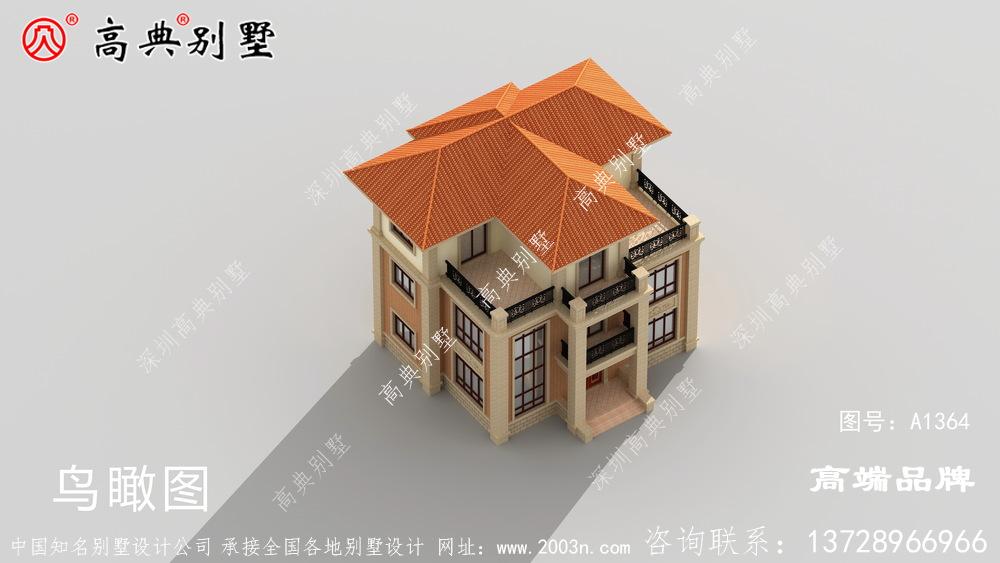 回老家建三层别墅,终于把梦想变成现实