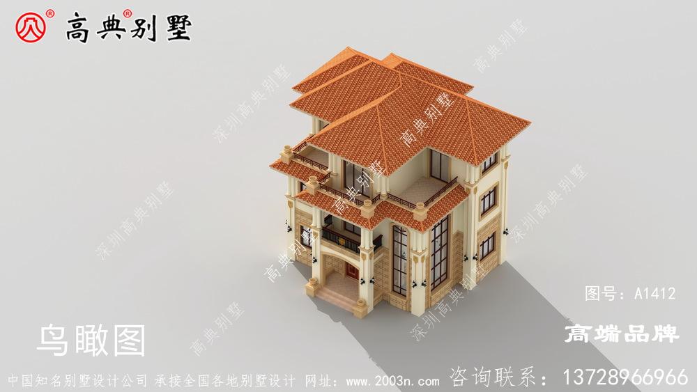 三层别墅设计图,不但漂亮又实用