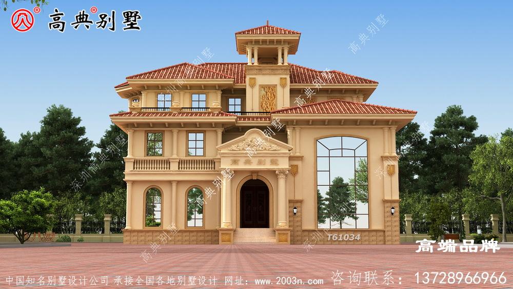 坡屋顶设计具有轻便和空间延伸的功能更加美观