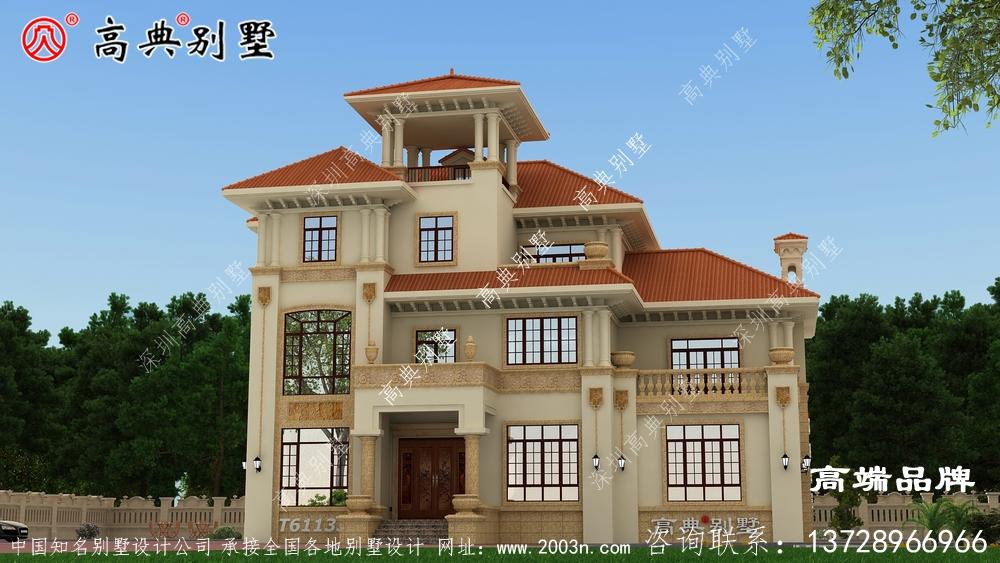 这套别墅外观层次分明,有超强的现代感
