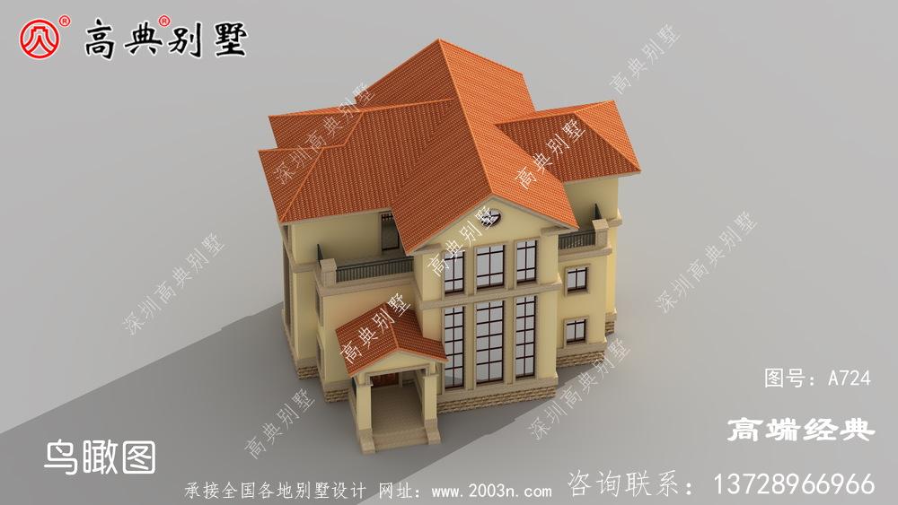 农村复式三层别墅,每一处细节都彰显你的品位