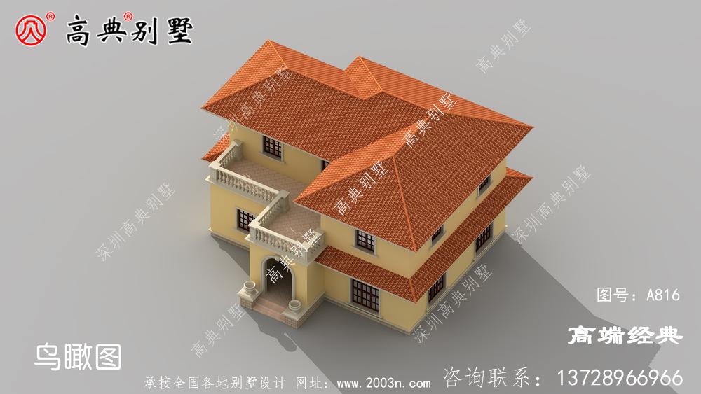 每个人都有从众心理,看见别人家的别墅好自己也会跟着建