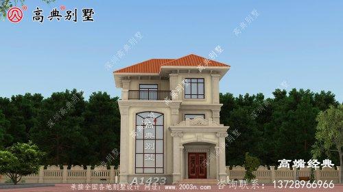 建一栋这样的别墅,被全村人夸大孝子